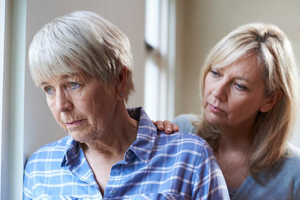 Parent with dementia